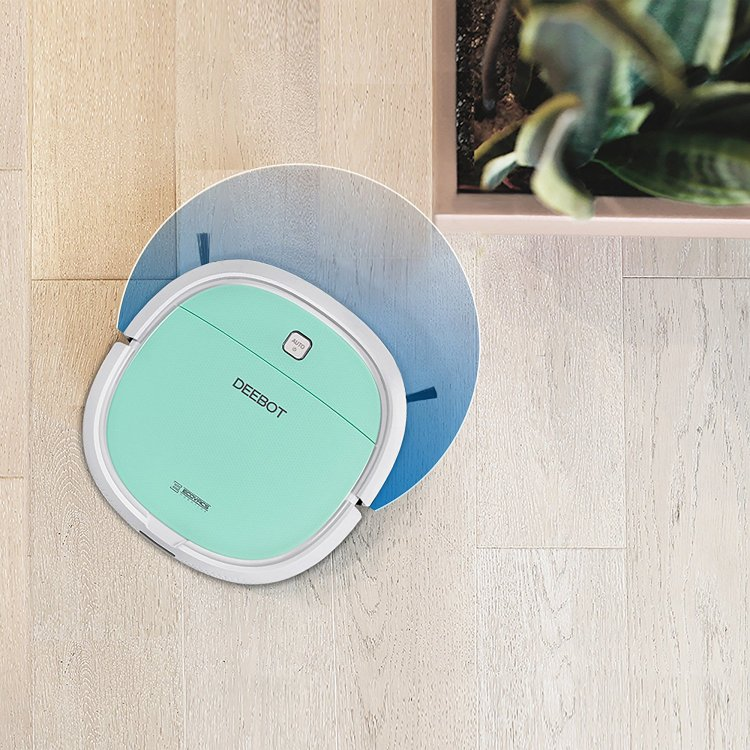 deepbot-mini2-corner-range Powerful ECOVACS Mini Robotic Vacuum Cleaner That Can Be Easily Controlled With a Smartphone Random