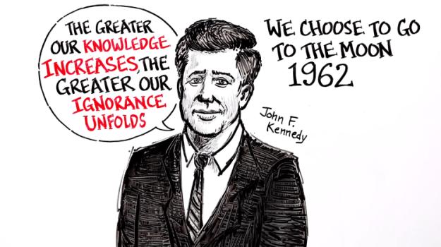 john-f-kennedy-we-choose-to-go-to-the-moon A Brilliant Whiteboard Animation of President John F. Kennedy's Iconically Prescient 1962 Moon Speech Random