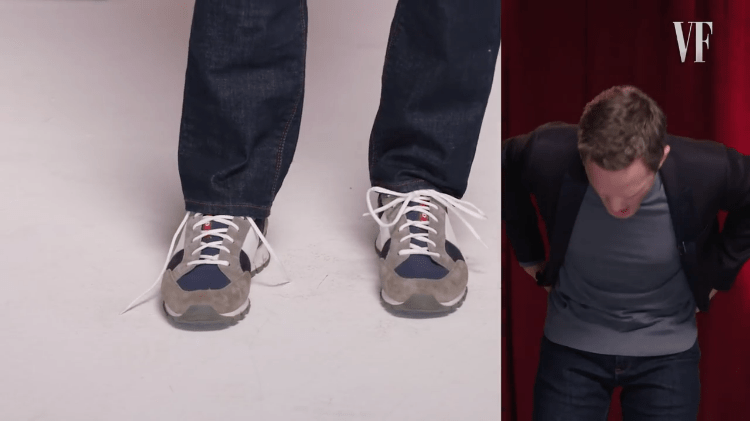 neil-patrick-harris-tying-shoes Neil Patrick Harris Demonstrates How He Can Tie His Shoes Without Using His Hands Random