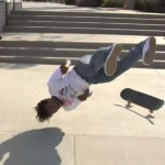 Skateboarder Na-kel Smith Magically Rolls Out of a Crash Landing With Ease