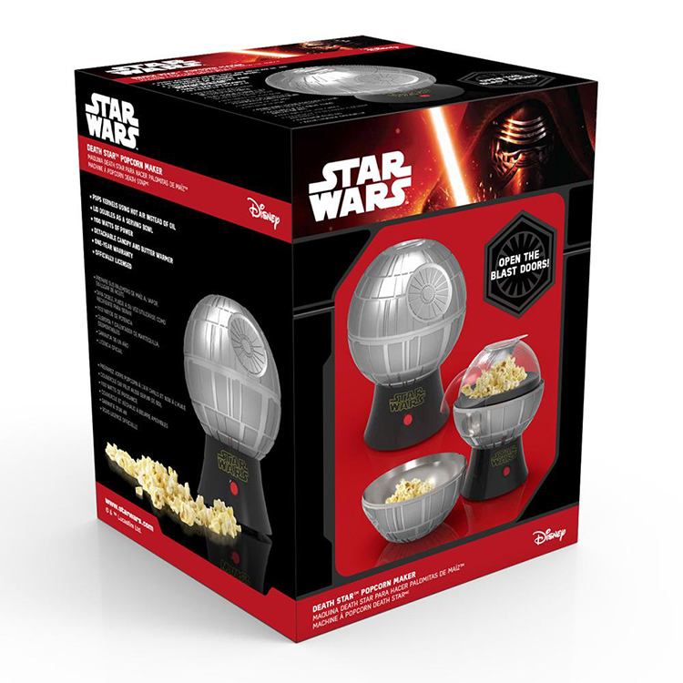 star-wars-death-star-popcorn-maker-5 Star Wars Death Star Popcorn Maker Random
