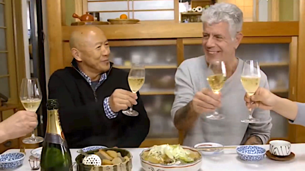 Masa-and-Anthony-Bourdain Chef Masa Takayama Mourns the Death of Friend Anthony Bourdain With Whom He Often Broke Bread Random