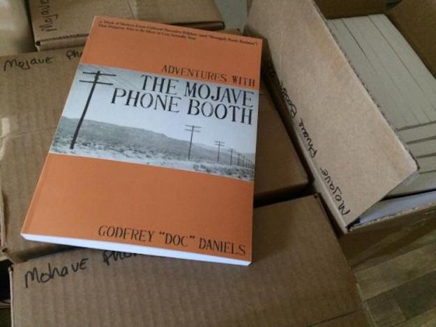 Adventures-With-the-Mohave-Phone-Booth Adventures With the Mojave Phone Booth, The Tale of an Isolated Phone Booth's Rise and Fall to Fame Random