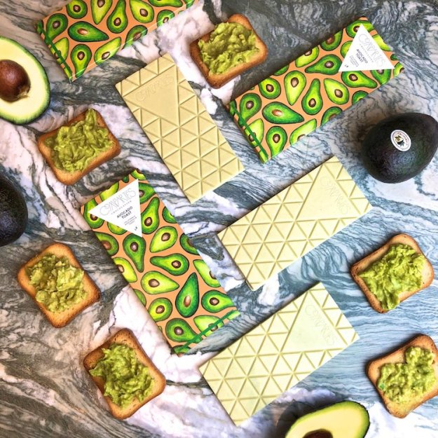Compartes-Avocado-Toast-Bar A Limited Edition Avocado Toast Chocolate Bar Random