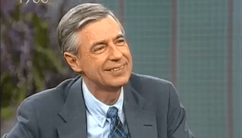 Touching Footage of Mister Rogers Interacting With His Son and Then