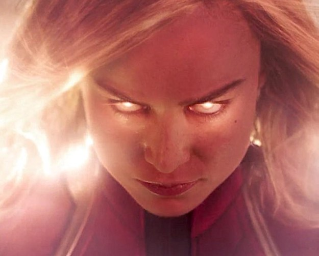 Captain-Marvel Carol Danvers Crashes Back to Earth With Questions About Her Past in the First Trailer for 'Captain Marvel' Random