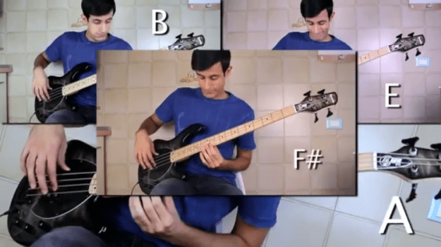 Chromatic-Scale-Bass-Solo How to Turn a Simple Chromatic Scale Into a Badass Bass Solo Through Intense Video Editing Random