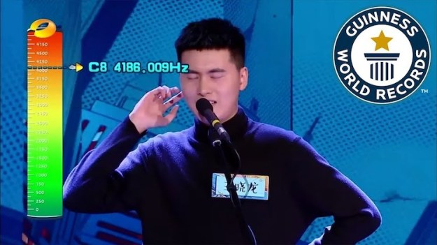 Highest-Vocal-Note-Male-GWR Chinese Man Breaks the Guinness World Record for the Highest Vocal Note Ever Performed by a Male Random