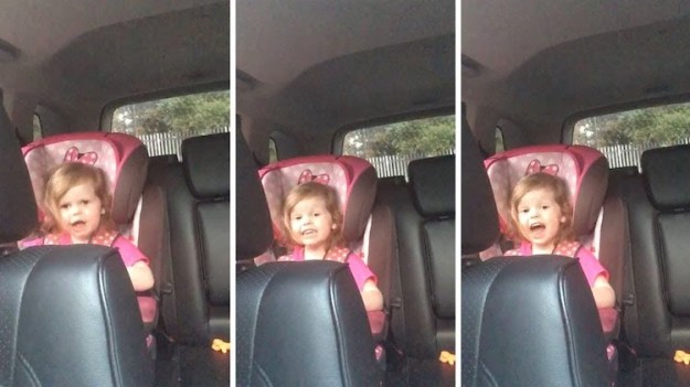 Holly-Lee-Bohemian-Rhapsody-Three-Year-Old An Adorable Three Year Old Girl Belts Out the Lyrics to 'Bohemian Rhapsody' While Sitting in Her Car Seat Random