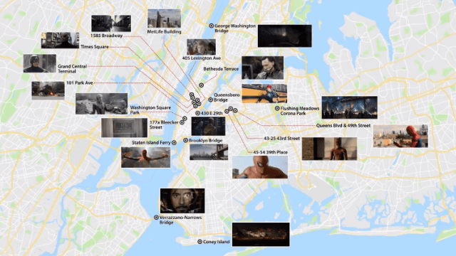 Marvel Map Of New York.How Iron Man Became The Template For Avengers Films Due To Stark S