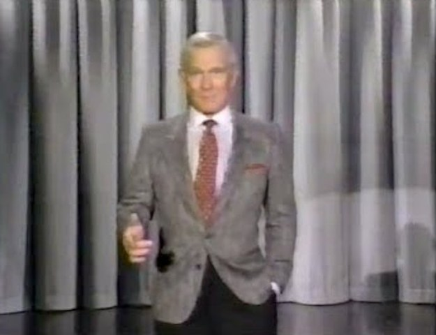 Tommy-Smothers-as-Johnny-Carson Tommy Smothers Does a Spot On Impression of Johnny Carson Making His Entrance on the Tonight Show Random