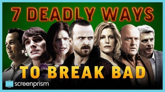 7-Deadly-Ways-to-Break-Bad An Insightful List of Several 'Breaking Bad' Characters Presented in an Ascending Level of Wickedness Random