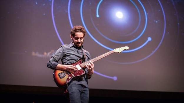 Guitar-Playing-Astrophysicist Guitar Playing Astrophysicist Explains How the Foundations of Music Are Correlated to the Universe Random