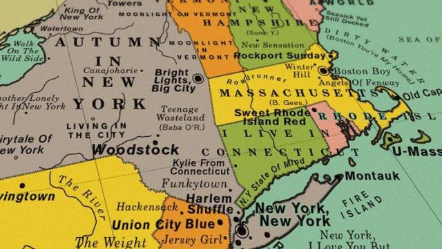 A Map of the Optimal United States Road Trip That Hits Landmarks in ...