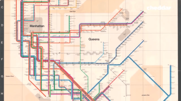 Subway-Vignelli Why New Yorkers Preferred a Less Attractive But Properly Scaled Subway Map Over a Modern Redesign Random