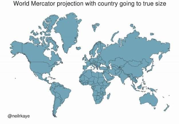 World-Mercator-Projection-With-World-Going-to-True-Size An Animated Mercator Projection That Reveals the Actual Size of Countries Around the World Random