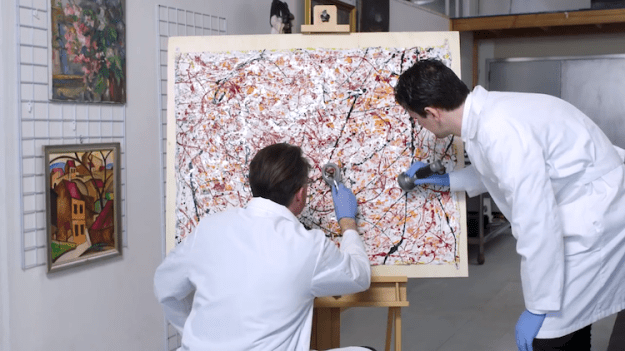Anatomy-of-a-Fake-Jackson-Pollock-Forensic-Analysts Forensic Experts Explain the Comprehensive Process Used to Determine if a Piece of Art is Real or a Forgery Random