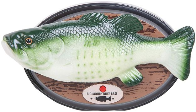 Big-Mouth-Billy-Bass An Official Alexa Enabled Big Mouth Billy Bass Singing Fish That Was Inspired by a Clever 2016 Hack Random