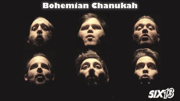 Bohemian-Chanukah-Six13 A Festive Chanukah-Themed A Cappella Adaptation of Queen's 'Bohemian Rhapsody' Performed In Its Entirety Random