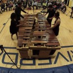 A Soothing Cover of the Queen Song 'Bohemian Rhapsody' Gently Played on a Four Person Marimba