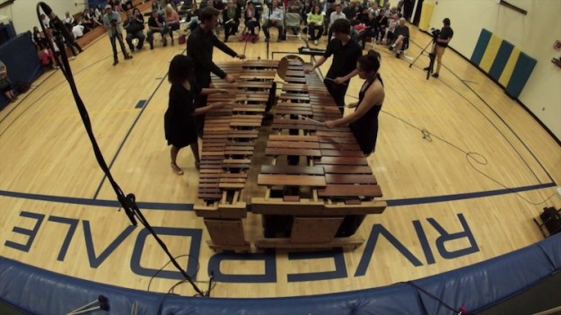 Bohemian-Rhapsody-Marimba-Students-Charles-Michael-Smith-Riverdale-Grade-School A Soothing Cover of the Queen Song 'Bohemian Rhapsody' Gently Played on a Four Person Marimba Random