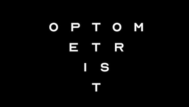 OPTOMETRIST1 Optician Sans, A Free Font Based Upon the Letters Historically Used on Eye Examination Charts Random