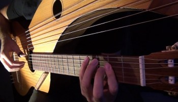 Musician Andy McKee Performs 'Streets of Whiterun' from