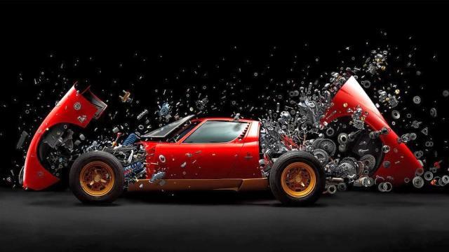 Lamborghini Egoista Concept A One Seat Supercar Inspired By