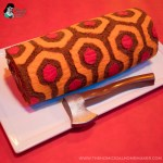 Redrum Roll Cake, A Brilliant Replication of the Iconic Rug From 'The Shining' in a Delicious Edible Form