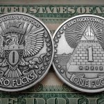 Silver Dollar Sized Novelty Coins That Help to Decide Whether or Not to Give a F**k With a Simple Toss