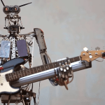 Robotic Robot Rock Band Compressorhead Performs the Classic Nirvana Anthem 'Smells Like Teen Spirit'