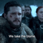 Jon Snow Apologizes For 'Game of Thrones' Season 8