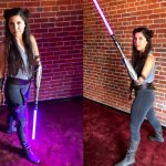 Jedi Cosplayer Creates an Amazing Lightsaber Attachment for Her Amputated Arm