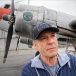 Bruce Dickinson of Iron Maiden Flies a Restored DC-3 Belonging to Mikey McBryan of 'Ice Pilots NWT'