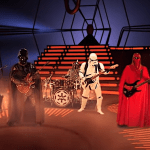 Star Wars Dark Side Band 'Galactic Empire' Performs a Sinister Heavy Metal Cover of 'The Imperial March'