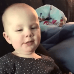 Baby Waking Up From Nap Hilariously Says 'That Was Awkward' to Her Mother Who Was Recording Her