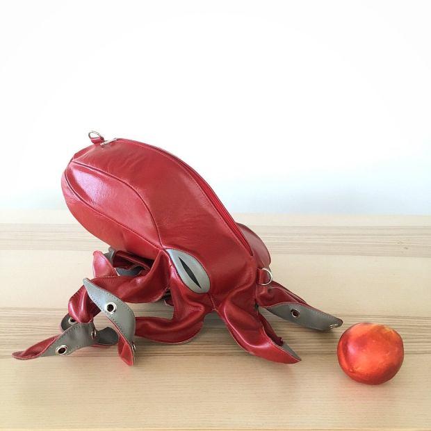 Octopus Bag Peach