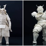 The Intricate Process of Folding an Exquisitely Detailed Origami Samurai Warrior From a Single Sheet of Paper