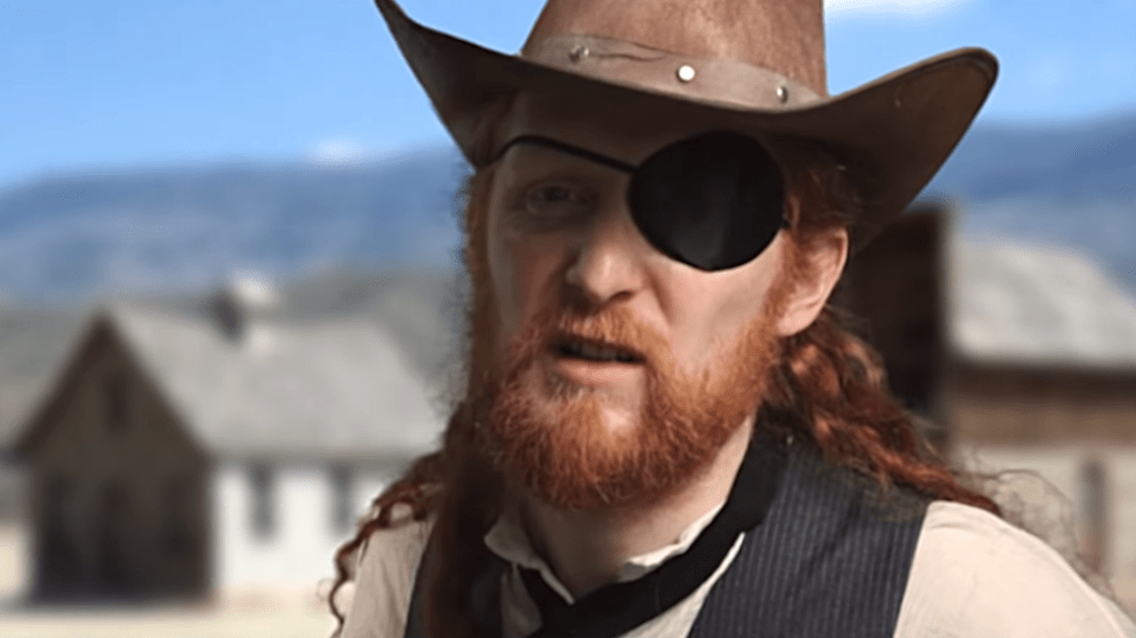 Comedian Pokes Fun at the Formulaic Manner In Which Spaghetti Westerns Were Filmed