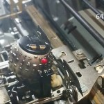 IBM Selectric Typewriter Golf Ball Filmed in Slow Motion