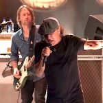 The Foo Fighters Invite Vocalist Brian Johnson of AC/DC Onstage to Perform 'Back in Black' at 'Vax Live'