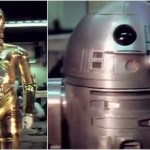 Rare 1976 16mm Footage of Kenny Baker and Anthony Daniels Trying Out Their R2-D2 and C-3PO Costumes