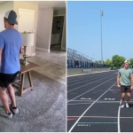 An Amusing Demonstration of What It Would Be Like If People Walked Around With Tiny One-Inch Strides