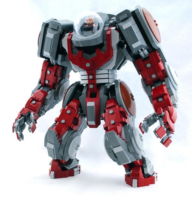 Lego Juggernaut Mecha