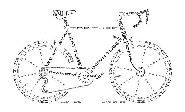 bici en inglés