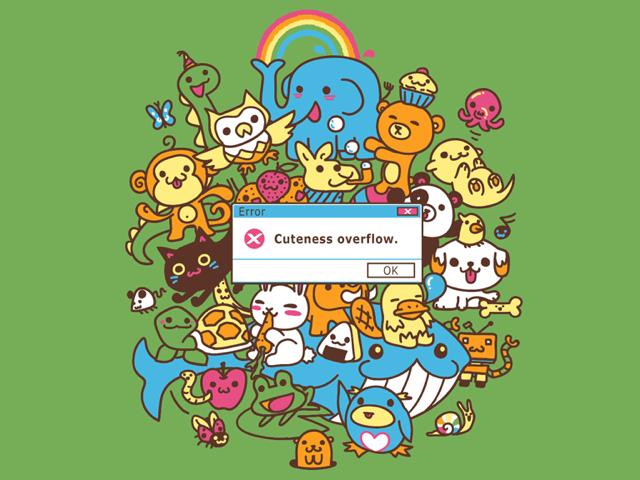 Cuteness Overflow Error