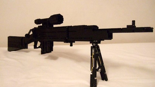 Functional Guns Made Out Of LEGO