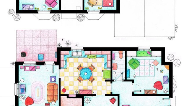 Highly Detailed 3D Floor Plans of Workplaces Featured in Popular ...