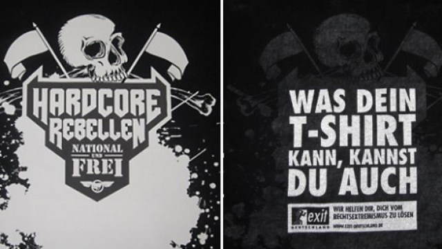 333eee1a2cd177 German Activist Group Pranks Neo Nazis With Trick T-Shirts