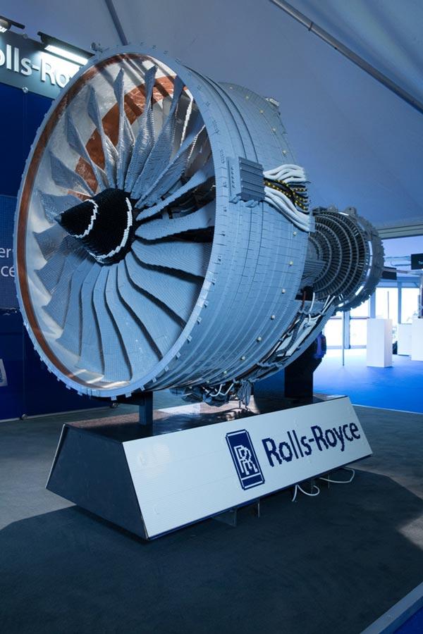 LEGO Rolls-Royce Trent 1000 Jet Engine